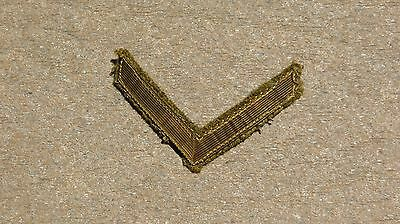 WWI WW1 US Army MILITARY Bullion Overseas Chevrons 1 Bar 1/2 Year