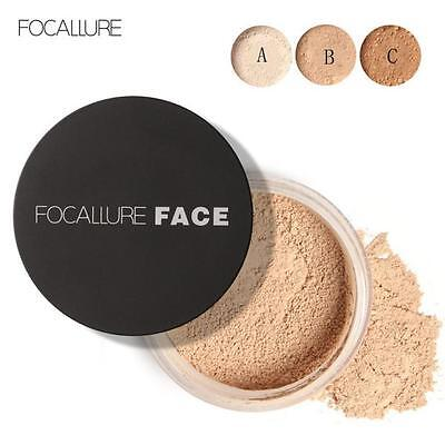 Focallure Oil Lasting Anti-sweat Breathable Transparent Loose Powder Face Powder