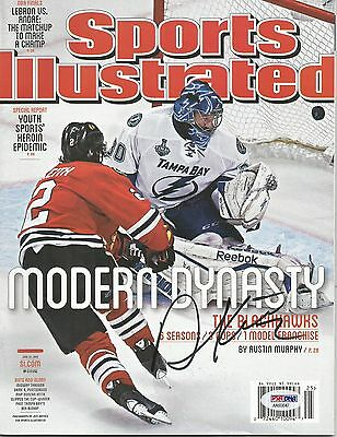 Duncan Keith Autographed Signed Psa/dna Chicago Blackhawks Sports Illustrated