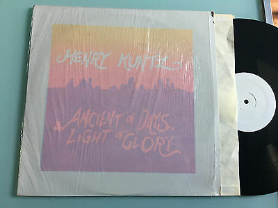 LP Henry Kuntz - Ancient of Days Light of Glory -- Limited edition of 300 copies