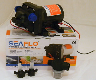 12V 42 Series New Auto Fresh Water Pump 11L Caravan  RV Boat Part Seaflo