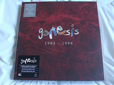 Vinyl Box Set: Genesis : 1983 - 1998 : Remastered & Download Sealed : 4 Albums