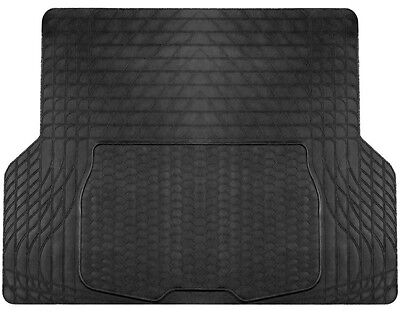 Large Heavy Duty Black Rubber Car Boot Mat Liner for Mercedes C Class Estate