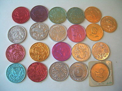 MARDI GRAS COINS lot of 21