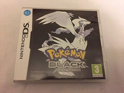 Pokemon Black Version. Nintendo DS.EMPTY CASE ONLY - NO GAME INCLUDED.Wi-Fi