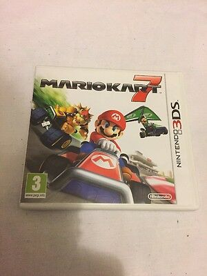 MARIOKART 7. Nintendo 3DS.EMPTY CASE & Manual. ONLY.NO GAME INCLUDED.