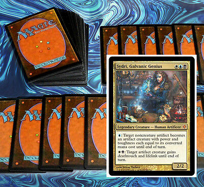 mtg BLUE WHITE BLACK ESPER DECK Magic the Gathering sydri muzzio sharuum