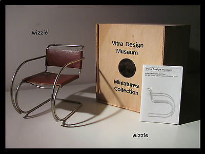 VITRA : MR 20 Leather / Mies Van Der Rohe / Miniature **NEW**