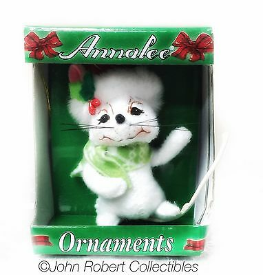 Annalee Dolls Snowflake Mouse  3 In Ornament