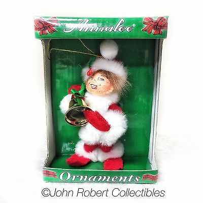 Annalee Dolls Christmas Cozy Christmas Elf Ornament 3 In