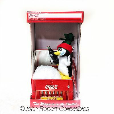 Annalee Dolls Christmas Ice Cold Penguin Coca Cola