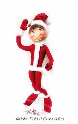 Annalee Dolls Christmas Cozy Christmas Elf 14 In
