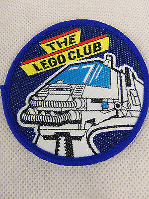 Vintage 80's 90's Lego Club Patches