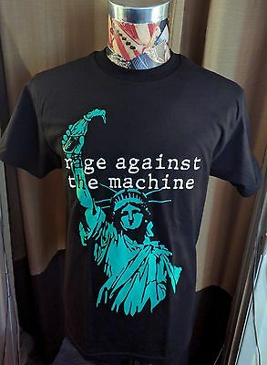 New Rage Against The Machine Ratm Lady Liberty Molotov Cocktail Black T Shirt