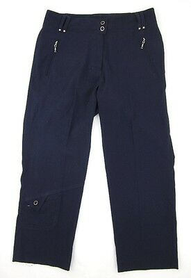 DKNY Golf By Jamie Sadock Navy Blue Capri Crop Pants Size 4