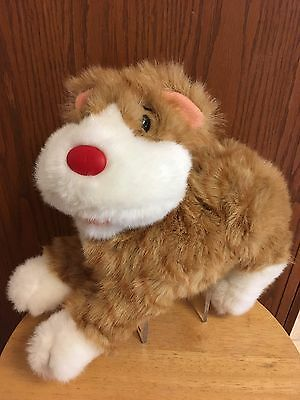 Big Comfy Couch Plush SNICKLEFRITZ the cat LG size