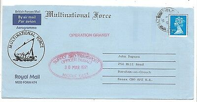 1991 Gulf War Royal Navy Bahrain Op Granby FPO 766 Muharraq Middle East