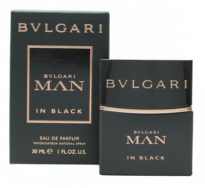 Bvlgari Man In Black Eau De Parfum 30Ml Spray - Men's For Him. New