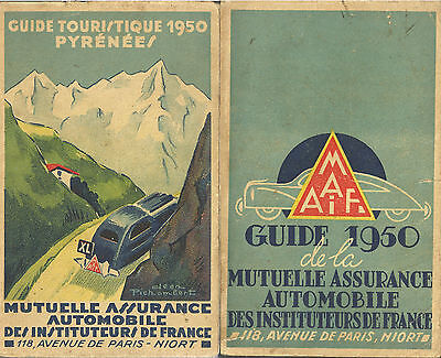 Guide Touristique routier 1950 PYRENEES MAAIF - Automobile