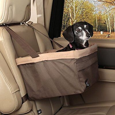 Solvit Pet Dog Booster Elevated Car Seat Carrier Large Standard W/ Safety Leash