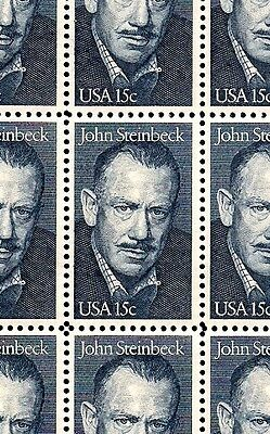 1979 - JOHN STEINBECK - #1773 Full Mint -MNH- Sheet of 50 Postage Stamps