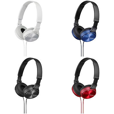 Sony ZX310 On-Ear wired Headphones - Choice of Colour.