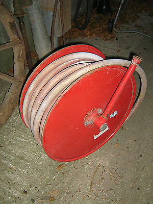 Automatic fire hose and reel