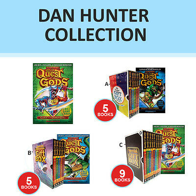 Quest of the Gods Collection By Dan Hunter Curse of the Demon Gift Wrapped New