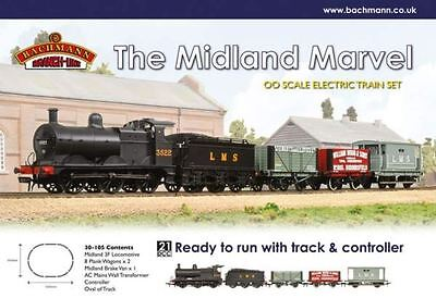 Bachmann Branch Line Electric Train Set - The Midland Marvel - OO Scale - 30-105