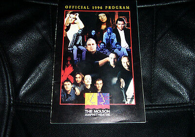 Molson Amphitheater Offical 1996 Program Sting, Meatloaf, Eagles, Steely Dan