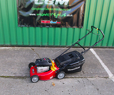 Mountfield HP183 Hand-propelled Petrol Lawnmower with Mulch Plug