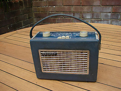 Hacker Mini Herald RP17A Portable Transistor Radio 1960s TLC Global Shipping