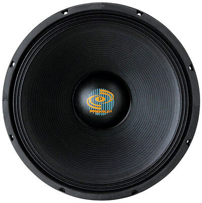 Pyle  Subwoofer 18 Pyle Driver Cast Frame; 1600 Watts; 8 Ohm