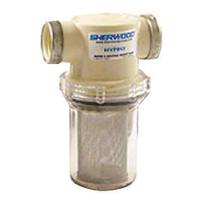 Sherwood #18016 - Sea Water Strainer - 1.25 in Ports