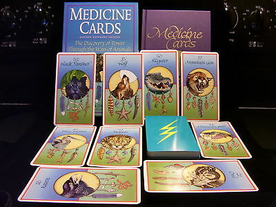 Brand New & Sealed! Native American Animal Medicine Cards & Hc Book Oracle