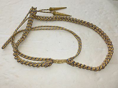 WWII Navy Officer Admiral Aide Shoulder Cord 2 Star RADM Flag Insignia