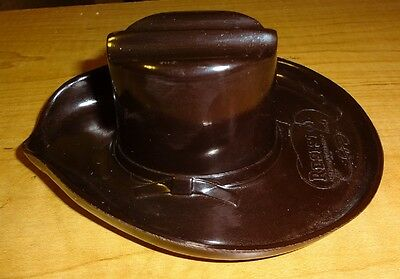Vintage Resistol Cowboy Hat Advertising Ash Tray