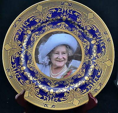 Vintage Caverswall Prestige Plate Queen Mother Centenary 2000 Limited Edition