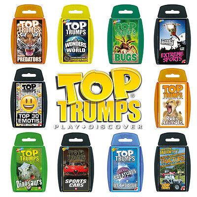 Brand New - Top Trumps Classics Card Game - Choose your favourite