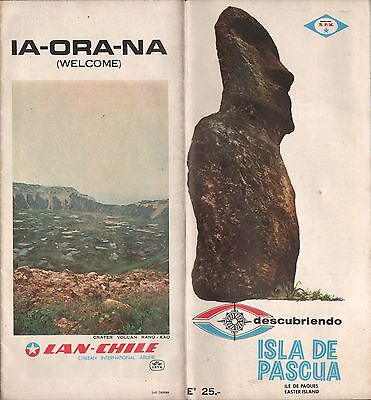 Chile Road Map Easter Island