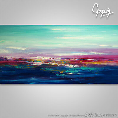 Large Abstract Painting Art Original Home Decor, Wall Art #76 Seascape #114