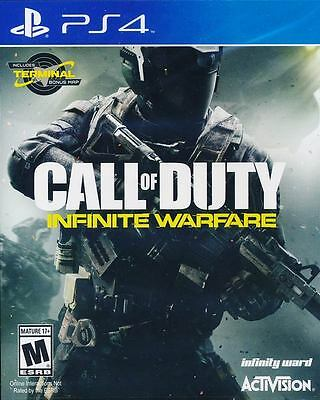 Call of Duty Infinite Warfare (with Terminal Map DLC) PS4 Game New (US version)