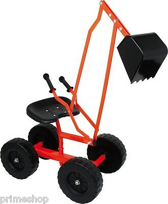 Digger with Wheels Metal 360° rotating Sandpit from 3 years ca. 104 x 33 x 58 cm