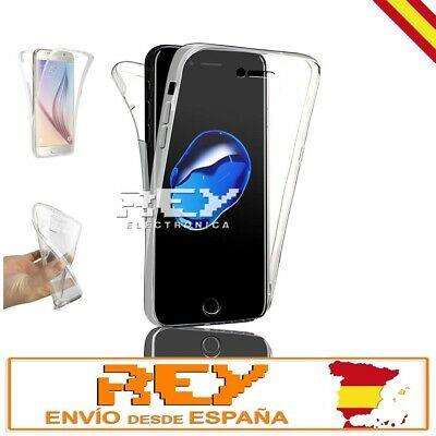 Funda Doble Silicona para IPHONE 7 PLUS Gel TPU Transparente 360º i406