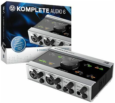 Native Instruments Komplete Audio 6 Studio Interface - NI Soundkarte 4In / 4Out