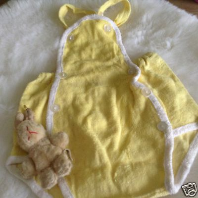 VINTAGE AUTHENTIC INFANT BABY CHILDRENS  ROMPER 3 MONTHS decade  60 s  UNUSED