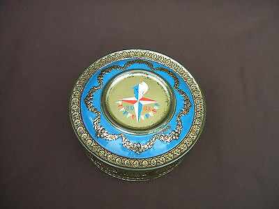 Old Festival of Britain Embossed Souvenir Confectionery Tin 1951