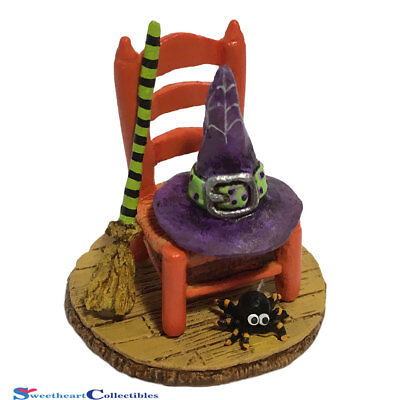 Wee Forest Folk 2016 Halloween Witchy's Hip Hat & Broom A-38