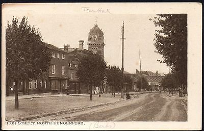 Postcard - Oxfordshire - High Street, North Hungerford
