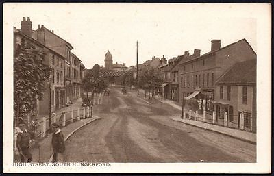 Postcard - Oxfordshire - High Street, South Hungerford